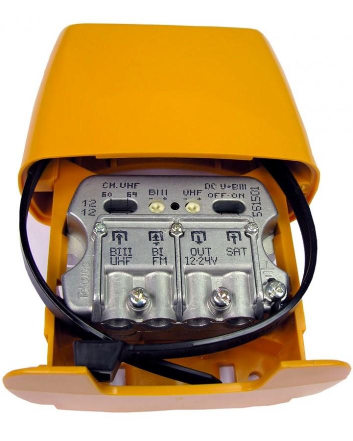 Amplificador de Mastil NanoKom 3e 1s Televes 561501