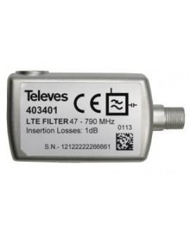 Filtro LTE selectivo de interior (C21-60) Televes 403401