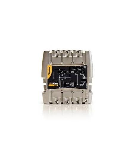 "Amplificador MiniKom ""Easy f"" MATV+FI 4e/1s"