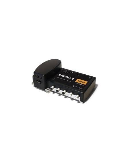 Central Minikom 2e: FI 2150-mezcla MATV, 45dB/124 dBuV- 22KHz Televes 532401
