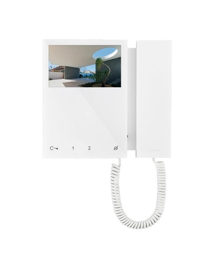 Monitor mini  a color con telefono incorporado comelit 6701W