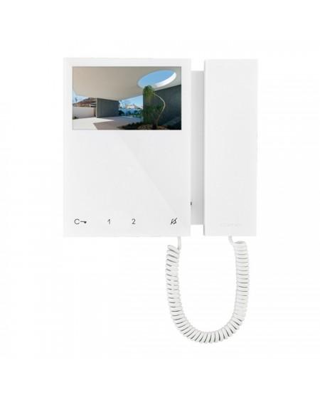 Monitor mini a color con telefono incorporado