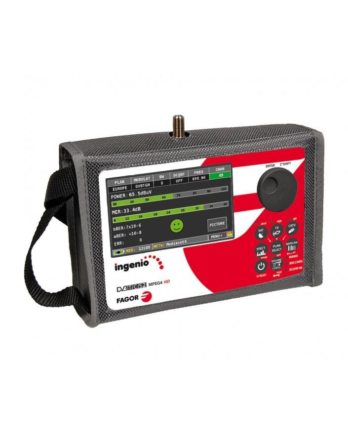 Medidor de campo FULL HD Ingenio 87701 de Fagor