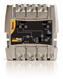 Central amplificadora MiniKom MATVI  3e/1s FM-BIII/DAB-UHF Televes 562501
