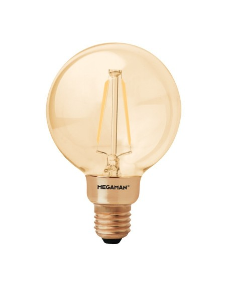 BOMBILLAS LED FILAMENT GOLDEN GLOBE VINTAGE