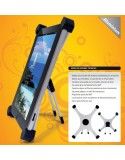 Soporte plegable 360º para iPad y Tablet AC0900