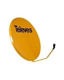 Antena Parabólica Offset 1000mm FE/naranja.