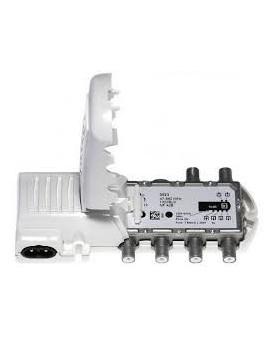 Amplificador de antena para interior 4 salida+TV, 47-790MHz. F Televes