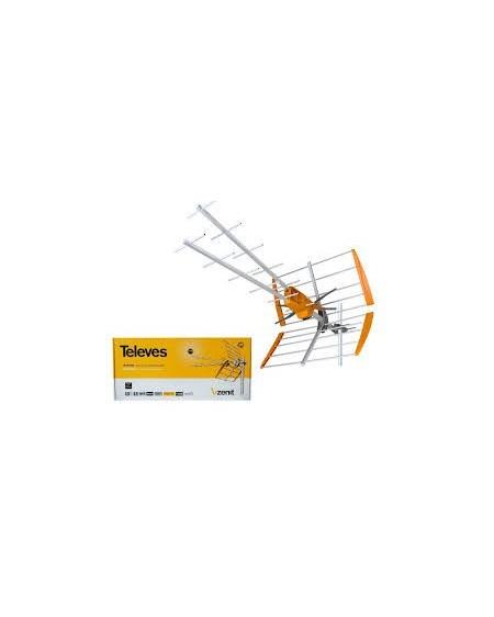 Antena V Zenit UHF Ganancia 15dBi Televes 149201