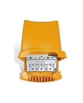 Amplificador de Mástil 2e, 1s, EasyF BIII/DAB/UHF(dc)-UHF(dc)
