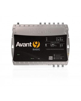 Central Amplificadora Programable Avant 9 Sat