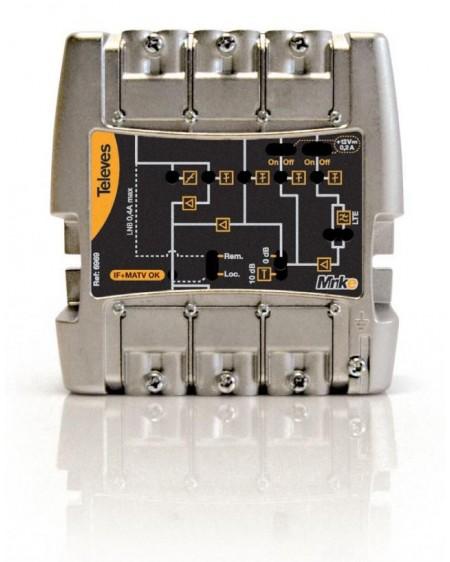 Central amplificadora MiniKom MATVI 5e/1s Easy F