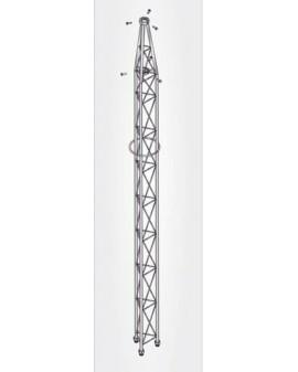 Tramo Superior Torre 180 3 m Galvanizado en Caliente