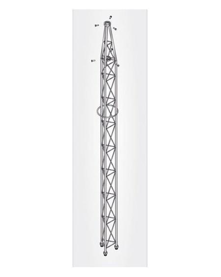 Tramo Superior Torre 180 3m Galvanizado en Caliente