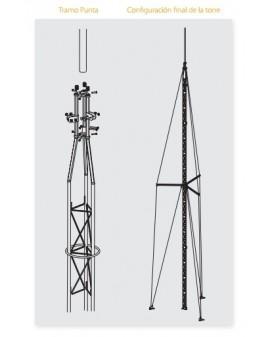 Kit Torre Q1500 Acero Inoxidable 14,5m