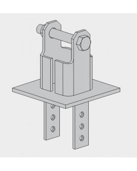 Base basculante para Torre 360 Zinc+RPR