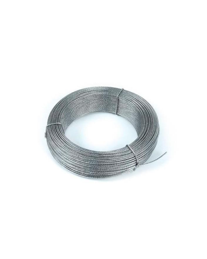 Cable acero galvanizado 6mm Bobina 200m
