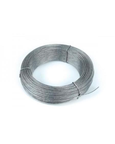 Cable Acero Gálvanizado 6mm/200m