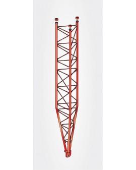 Tramo Inferior Basculante Torre 550 Zinc+Rojo 3m