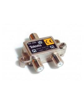 Repartidor Interior SCATV 2 salidas conector F 1000 MHz