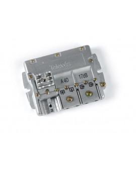 Derivador conector easy F, 2 salidas, 16 dB  Interior A (planta 2 y 3)