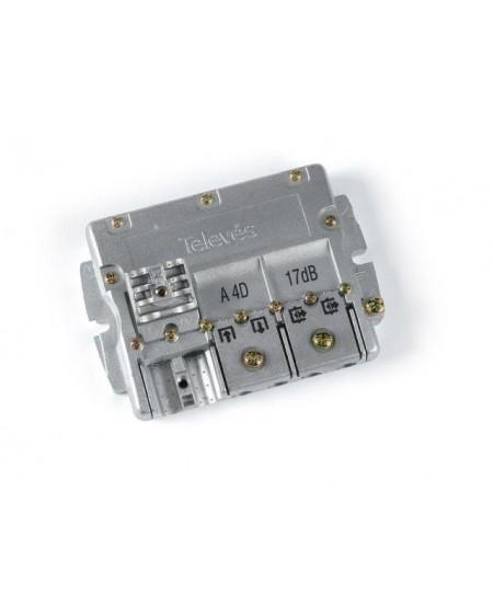 Derivador conector easy F, 4 salidas, 16 dB Interior A (planta 2 y 3)