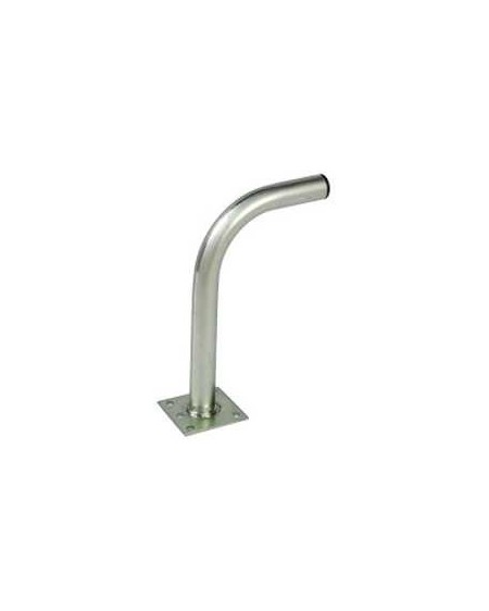 Soporte ''L'' pared 284x194mm 35x1.5 mm para discos 60/80 cm.
