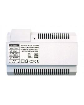 ALIMENTADOR KIT WAY DIN10 26VDC-2A