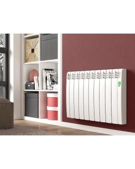 Radiador eléctrico Serie D Blanco 9 elementos