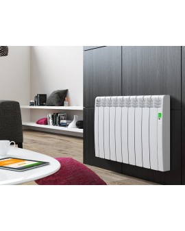 Radiador eléctrico Serie D Blanco 15 elementos
