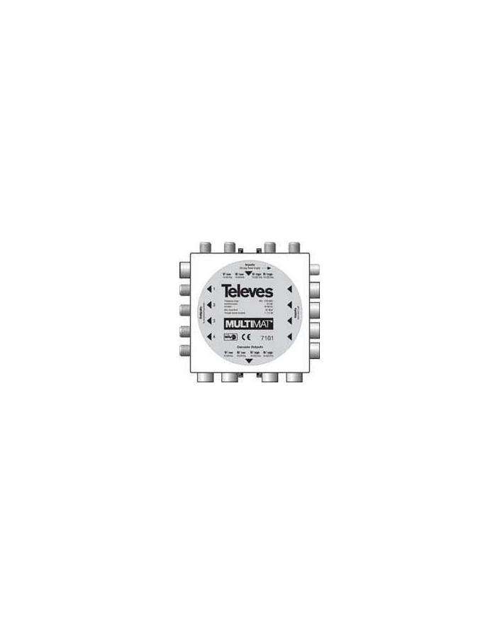 Conmutador Multiswich 4E-4S-4SP-4EP principal Multimat.