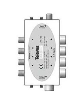Combinador pasivo MATV/FI 12 dB Multimat.