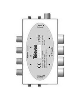 Combinador pasivo MATV/ FI 9 dB Multimat.