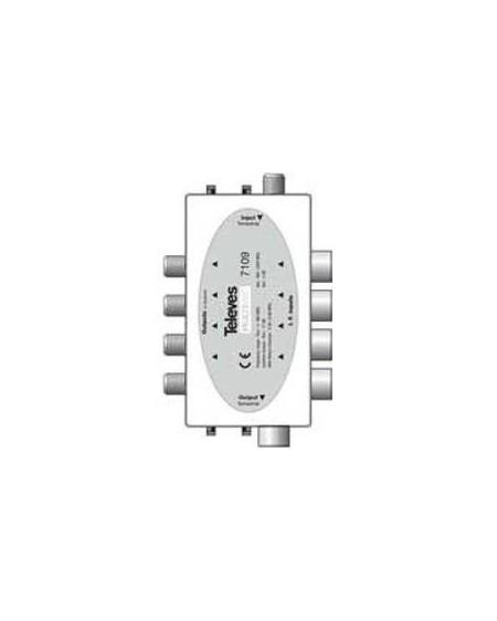 Combinador pasivo MATV/ FI 17 dB Multimat.
