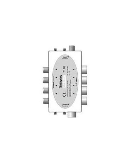 Combinador pasivo MATV/ FI 21 dB Multimat.