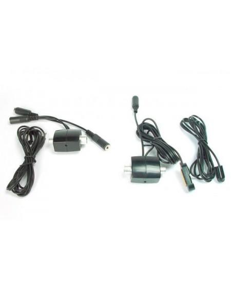 Kit Emisor + Receptor de señal mando a distancia por cable coaxial