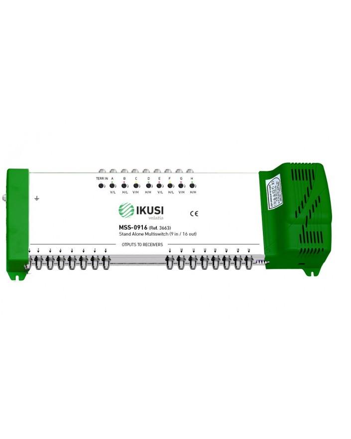 Multiswitch FI autónomo 9x16 MSS-0916