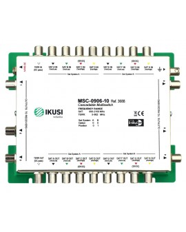Multiswitch FI cascadable 9x6 MSC-0906-10