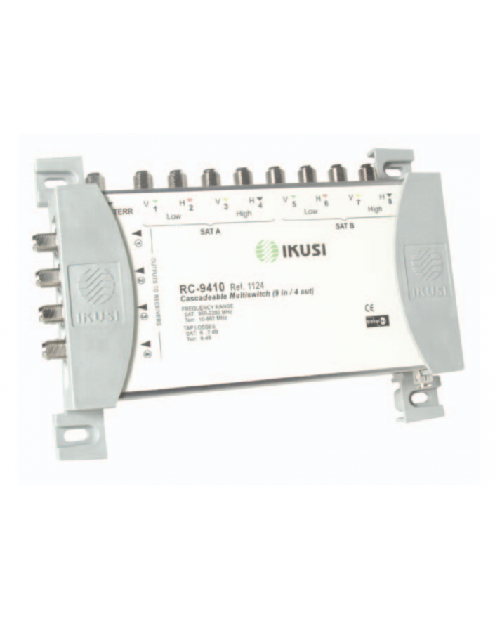 Multiswitches Cascada 9x4 RC-9410