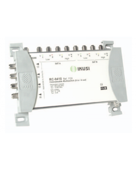 Multiswitches Cascada 9x4 RC-9415
