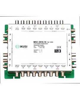 Multiswitch FI cascadable 9x10 MSC-0910-10