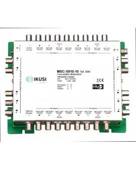 Multiswitch FI cascadable 9x10 MSC-0910-10