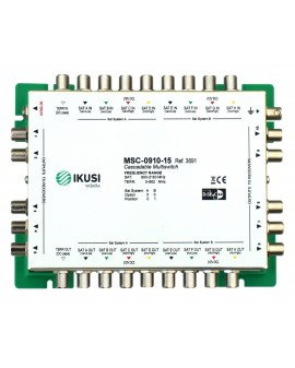 Multiswitch FI cascadable 9x10 MSC-0910-15