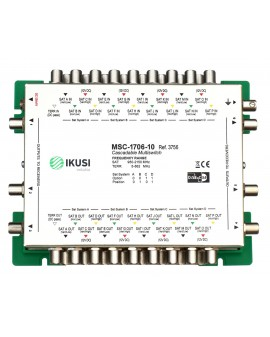 Multiswitch FI cascadable 17x6 MSC-1706-10