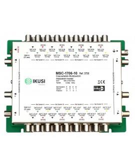 Multiswitch FI cascadable 17x6 MSC-1706-10