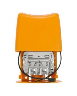 Mezclador de Mástil 3e/1s BI/FM-BIII/DAB-UHF[dc]