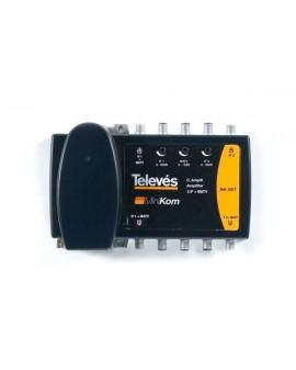 Central amplificadora Minikom 2FI + MATV