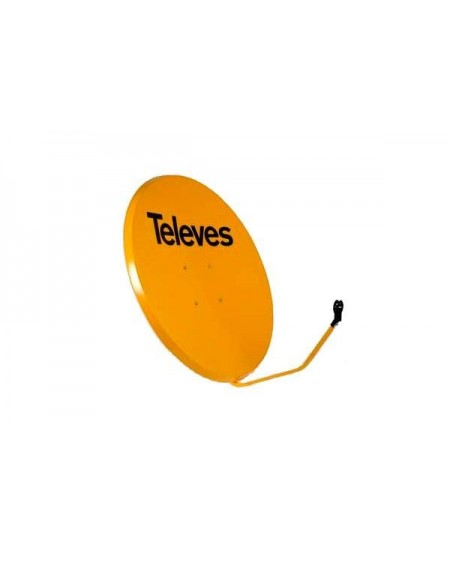 Antena Parabólica Offset 1100mm FE/naranja.