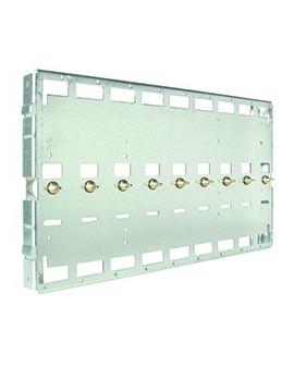 Base Soporte con contactos alimentación 9U BAS-919