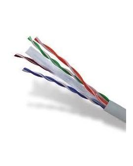 Cable UTP CAT6 Libre de Halógeno Gris (Rollo 305m)